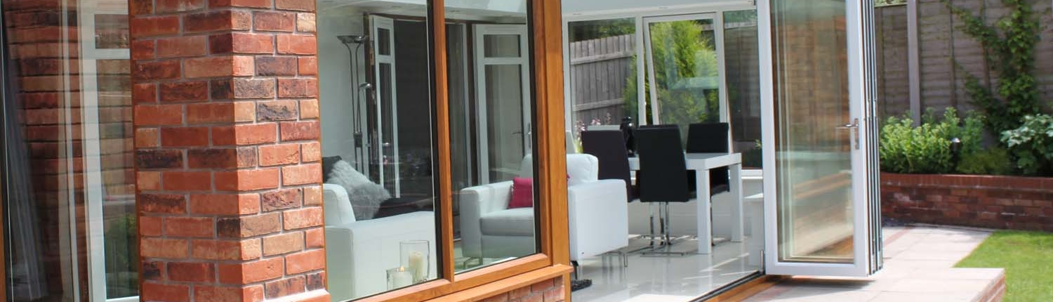 Bi-folding Doors by Select Windows of Walsall Wood and Burton-on-Trent