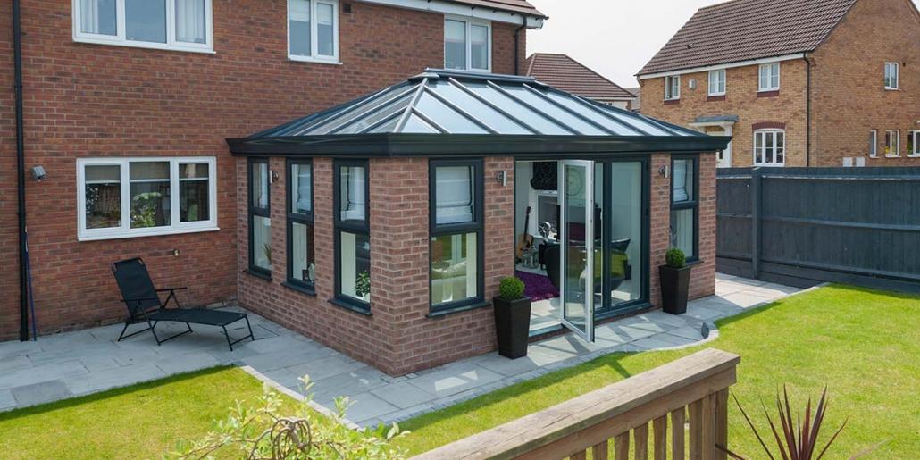 Modern Orangery design and installation West Midlands and Staffordshire