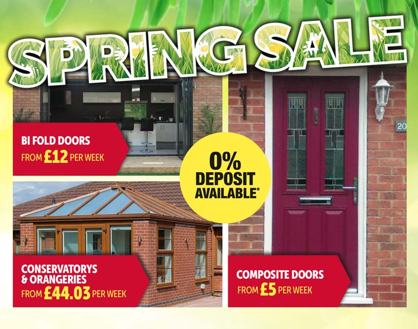 bifold doors & conservatory sale